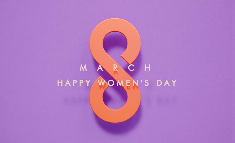 March 8 Happy Women's Day
