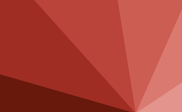 abstract color gradient triangles